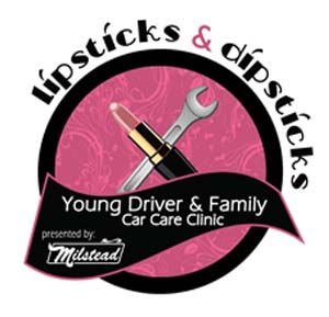 Lipsticks and Dipsticks Logo
